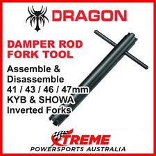 Universal Motorcycle Fork Spring Compressor and Damper Rod Holding Tool Kit mfsc