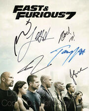 Furious 7 Diesel Brewster Jaa Wan signed 8X10 photo picture poster autograph RP2