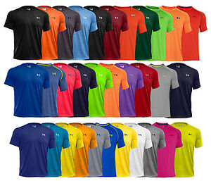 New under armour tech men 39 s athletic short sleeve t shirt for Mens colored t shirts
