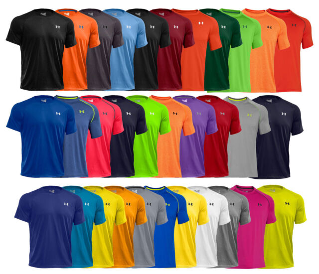 Sizes 1228539 NEW Under Armour UA Men/'s Tech Short Sleeve T-Shirt all Colors