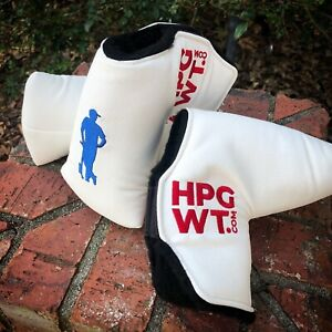 Textured Putter Cover w/ Embroidered Logo & Magnetic Closure