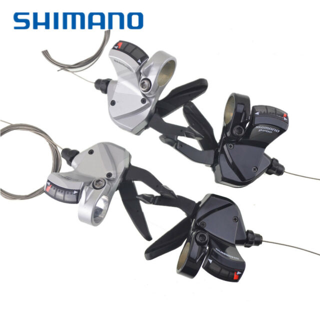 Road City 1-8 Speed Shift Bike Bicycle Shifter Levers For Shimano 8S Derailleur