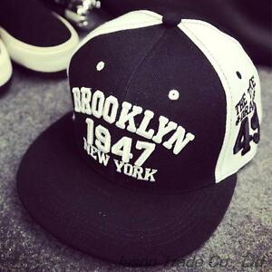 1947 Brooklyn Style Hat Gorras Planas Snapback Caps New York Hip Hop ... b0d3100872e