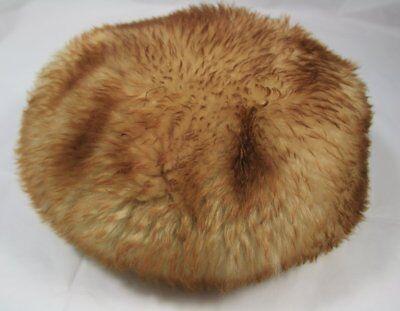 2019 Moda Vintage Ginger Shearling Cappello-piccolo/medio-mostra Il Titolo Originale