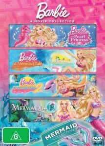 Barbie-4-Movie-Collection-Mermaid-Collection-The-Pearl-Princess-A-Mermaid