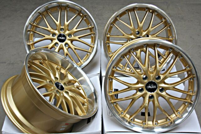 "ALLOY WHEELS X 4 18"" COMMERCIALLY LOAD WEIGHT RATED DEEP DISH 5X120 ALLOYS"