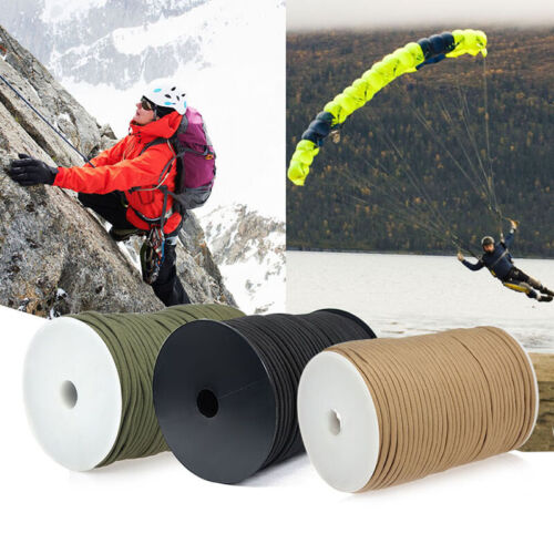 100 Meters Outdoor Useful Camping Rescue Rope Tent Binding Rope Climbing Rope ON