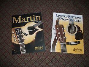 2010 Martin Guitars Brochure Usa Dealer Price List Brochure Limited