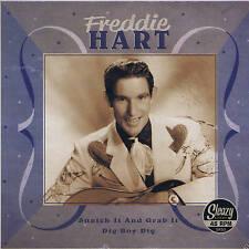 FREDDIE HART - SNATCH IT & GRAB IT / DIG BOY DIG (Hot ROCKABILLY JIVER & BOPPER)