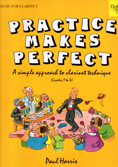 Practice Makes Perfect Clarinet Technique Grades 1 to 4 Music Book Shop Soiled