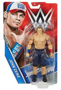 WWE JOHN CENA RAW SERIES 62 BASIC SUPERSTAR ACTION MATTEL WRESTLING FIGURE WWF