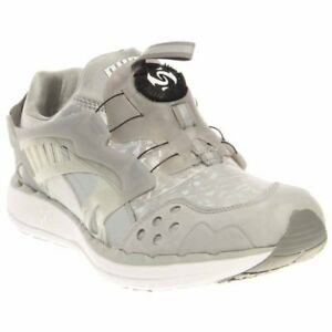 Image is loading Puma-Future-Disc-Lite-Holographic-Running-Shoes-Silver- e08841536