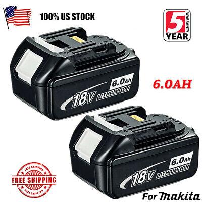 20X For MAKITA BL1860 BL1840 6AH LXT Li-ion Battery BL1830 BL1850 LED indicator