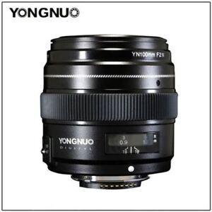 yongnuo yn100mm f2n auto focus manual prime lens for nikon d3200 rh ebay com nikon d3100 manual focus nikon d3200 manual focus lens