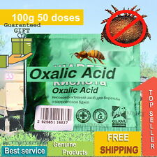 100g 50doses Oxalic Acid Pure Powder For The Treatment Of Varroatosis Of Bees
