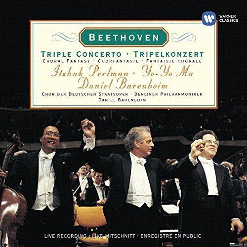 1 of 1 - Yo-Yo Ma - Beethoven: Triple Concerto - Yo-Yo Ma CD VNVG The Cheap Fast Free