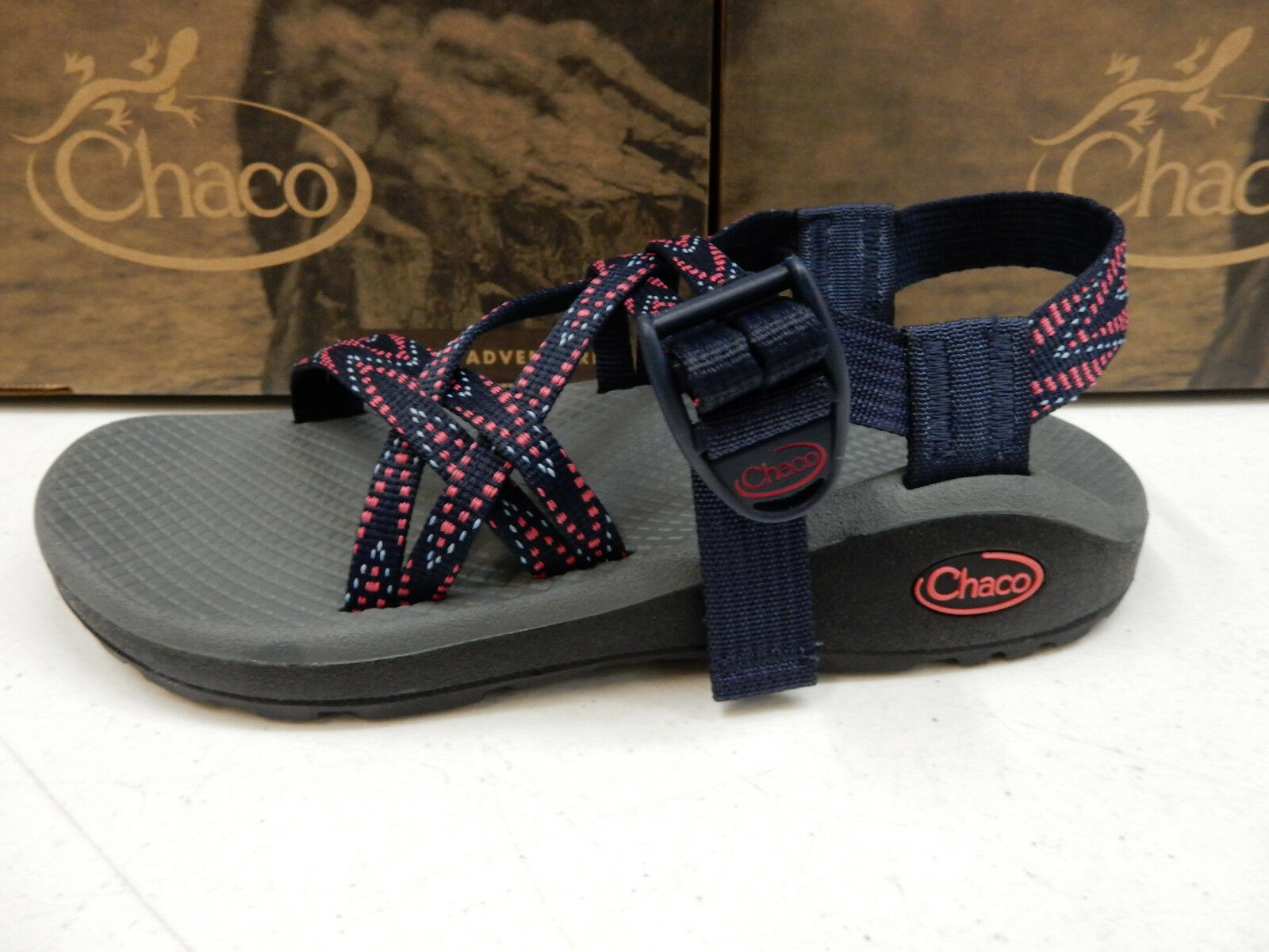 CHACO ACTION Damenschuhe SANDALS Z/CLOUD X ACTION CHACO Blau SIZE 6 206be1