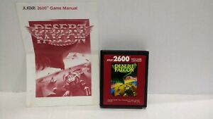 Atari-2600-Desert-Falcon-Red-Label-game-W-Manual