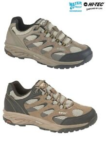 Hi-Tec Quadra Classic Men/'s Hiking Boots Walking Waterproof Brown Trainers