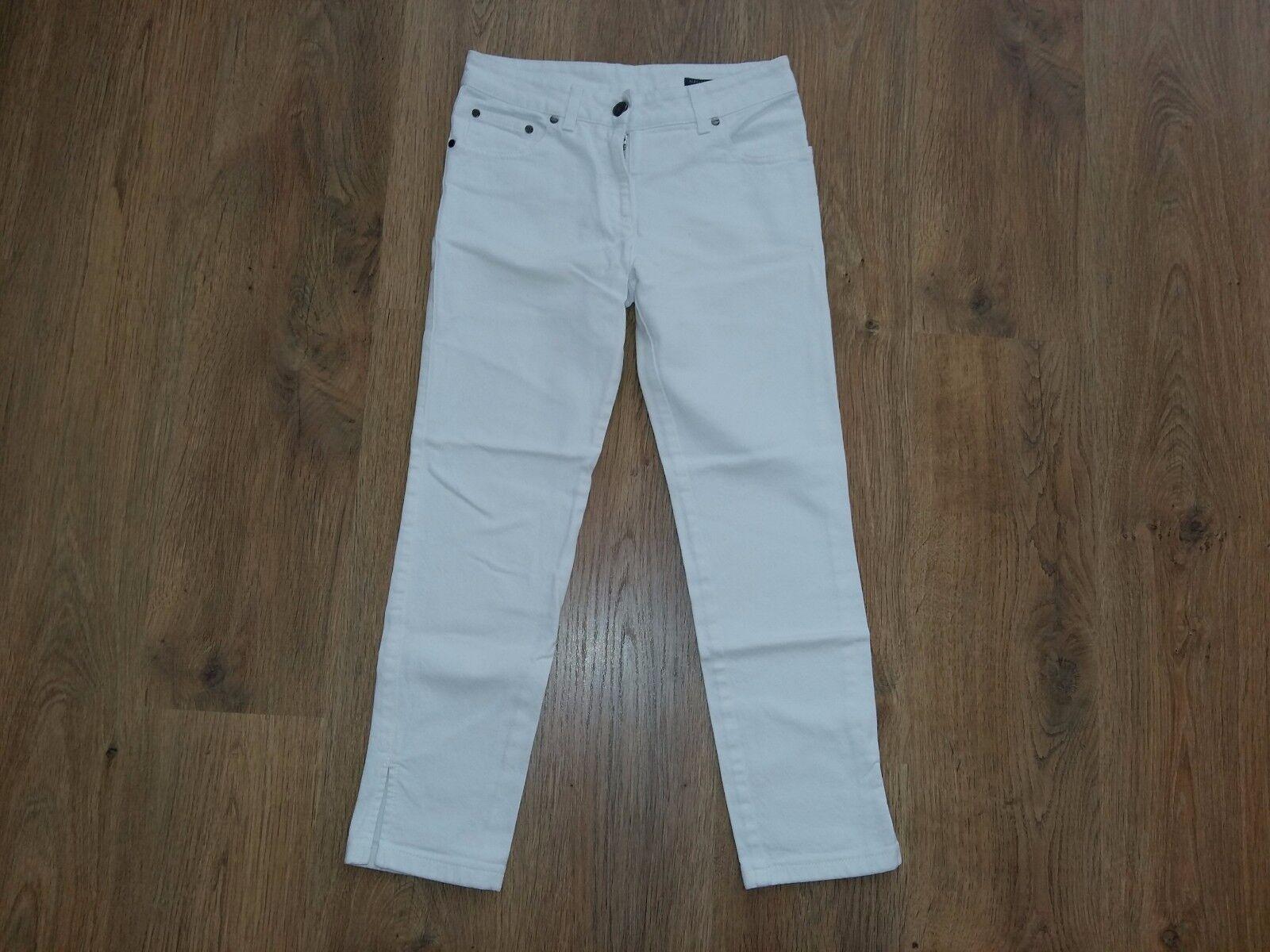 Alexander McQueen rare ladies women denim white Jeans size 38