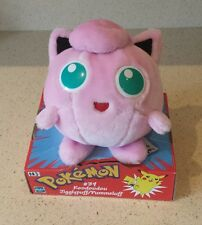 Nintendo Original Vintage Pokemon Plush Toy Jigglypuff cuddly soft new in box