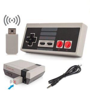 Recharge-Kabellos-Wireless-Controller-GamePad-Fuer-Nintendo-Classic-Mini-NES