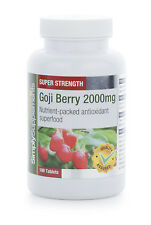 Goji Berry Extract 2000mg 360 Tablets | For The Heart & Skin | Pure Antioxidant