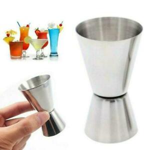 Stainless Steel Cocktail Measuring Cup Rum Bar Pub Measuring Jug