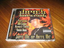 Chicano Rap CD Jayel Imperial - Love Me or Hate Me - Young Haze Alires & Trece