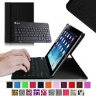 For Apple iPad 2/3/4 with Retina Display Leather Case Cover + Bluetooth Keyboard