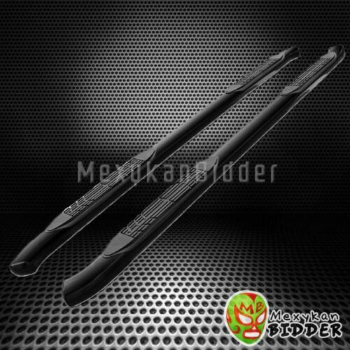 """4/"""" CURVED SIDE STEP NERF BAR 99-15 FORD F250//F350 SUPER DUTY EXTENDED CAB BLACK"""