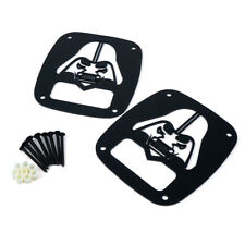 Xprite Darthvader Tail Light Cover Guard Trim For 1987 2006 Jeep Wrangler Tj Yj Fits Jeep