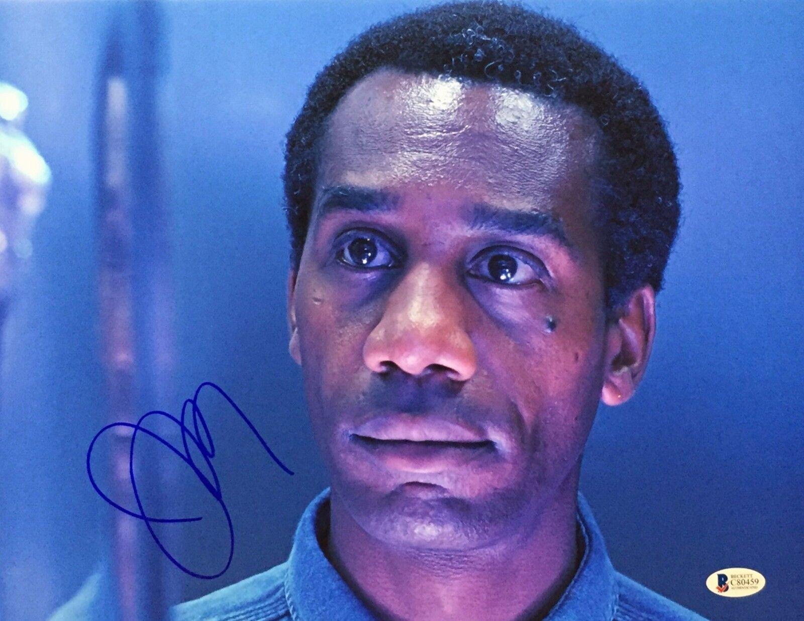 Joe Morton Signed 11x14 Photo *Justice League *Terminator *Eureka Beckett C80459