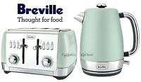 Kettle And Toaster Set Breville Strata Jug Kettle & 4 Slice Toaster Mint Green