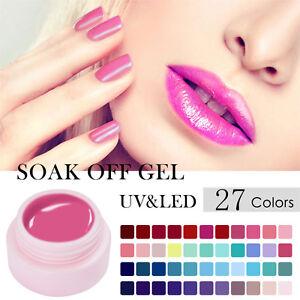 5ml-Nail-Gel-Polish-UV-Gel-Nagellack-Gellack-Nagel-Soak-Off-UV-amp-LED-UR-SUGAR