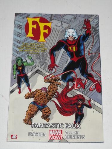 1 of 1 - FF VOLUME 1 FANTASTIC FAUX MARVEL NOW! FRACTION ALLRED ANT-MAN > 9780785166634