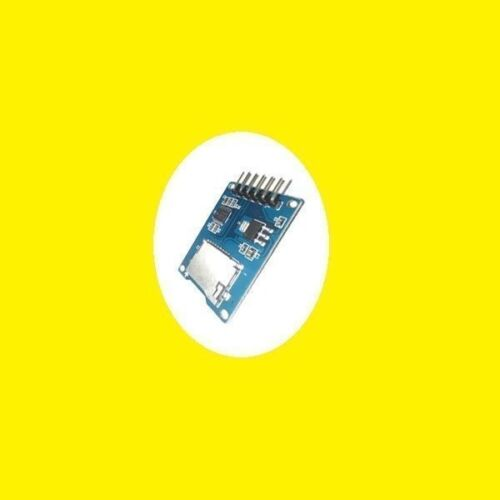 Micro SD Card Module 6Pin SPI Interface for Arduino UNO R3 MEGA 2560 DUE