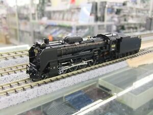 Kato-2016-7-JNR-Steam-Locomotive-Type-D51-498-N-Scale-from-Japan-Rare-Tracking