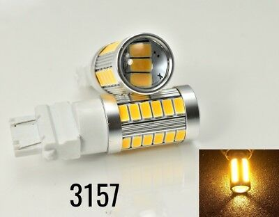 Front Signal Light 33 LED Bulb Blue CK T25 3157 3057 4157 B1 For Dodge A