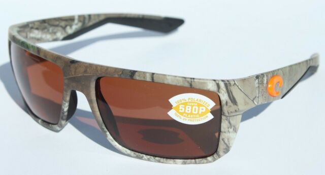 4e7da6fb5071 COSTA DEL MAR Motu 580 POLARIZED Sunglasses Realtree Xtra Camo Copper 580P  NEW