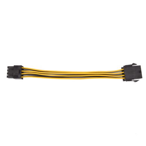 """PCI-E 8PIN Macho a Hembra 8PIN Cable de extensión de energía PCI Express FR /""""tarjeta de video"""