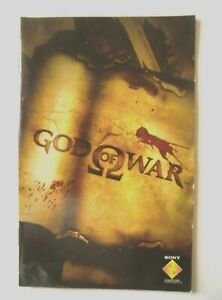 52203-Instruction-Booklet-God-Of-War-Sony-PS2-Playstation-2-2005-SCES-5313
