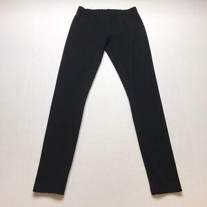 Loft Black Thicker Leggings Skinny Leg Size XS A258