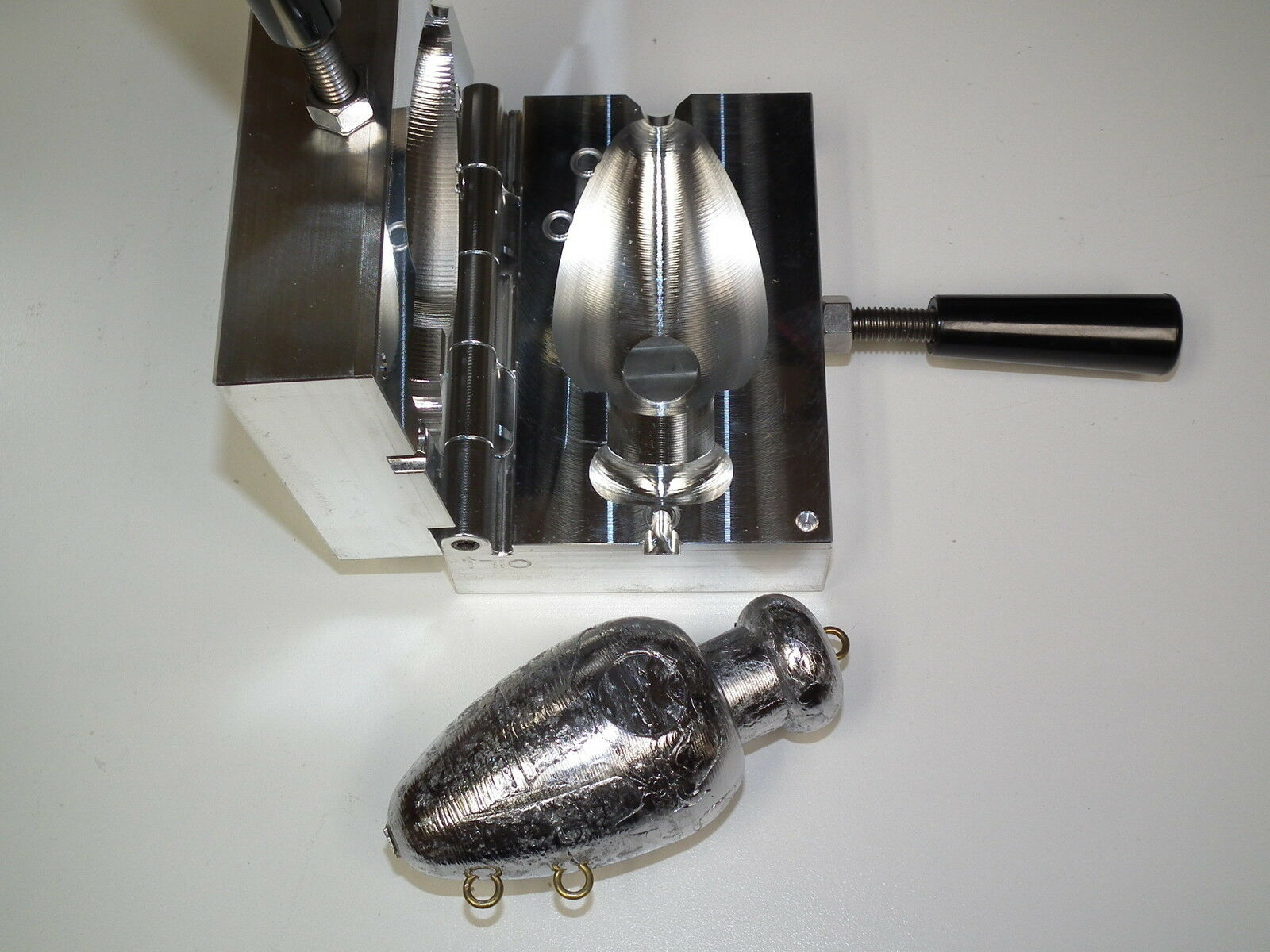 Saltwater Bel Mojo mold 64oz CNC Aluminum