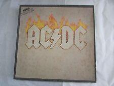 """RARE ACDC BOXED LP SET ALBERT LABEL 33 RPM UNRELEASED 12"""" VINTAGE AC/DC TNT"""