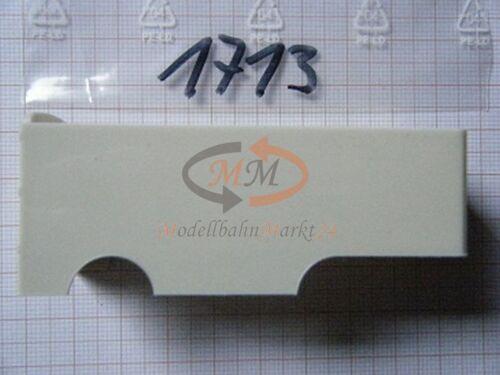 2x ALBEDO Ersatzteil Ladegut Koffer Auflieger alt Kofferaufbau H0 1:87-1713