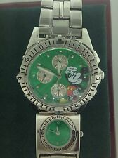 Disney Time Works Mickey Mouse Watch With Dual UTC Time Zone Watch