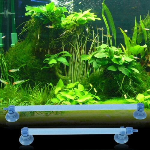 Fish Tank Aquarium Air Stone Bubble Wall Tube Aeration Pump Diffuser Accessory