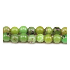 Packet-12-x-Green-Chrysoprase-10mm-Plain-Round-Beads-GS1418-4