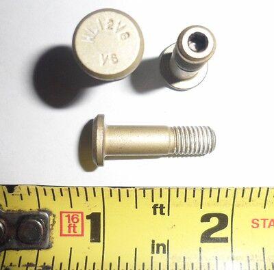 """Titanium Hi-Loks Pin Rivets p//n HL12V-8 10 ea 1//4-28  x 1.086/"""" Long"""